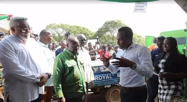 Rawlings supports Nana Addo in sanitation agenda