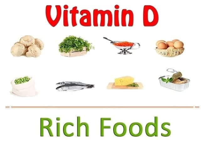 List of high vitamin d foods and drinks