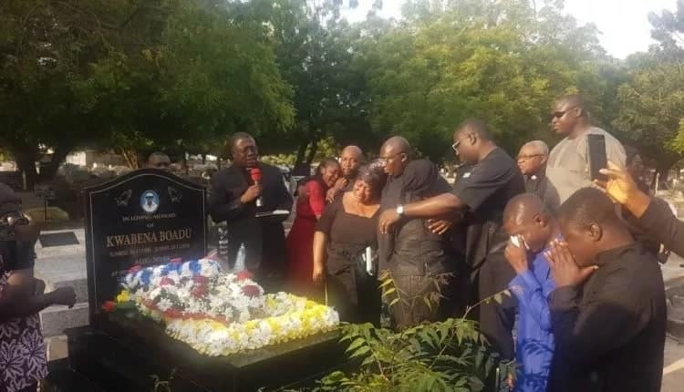 Bawumia mourns his special aide Kwabena one year after his passing