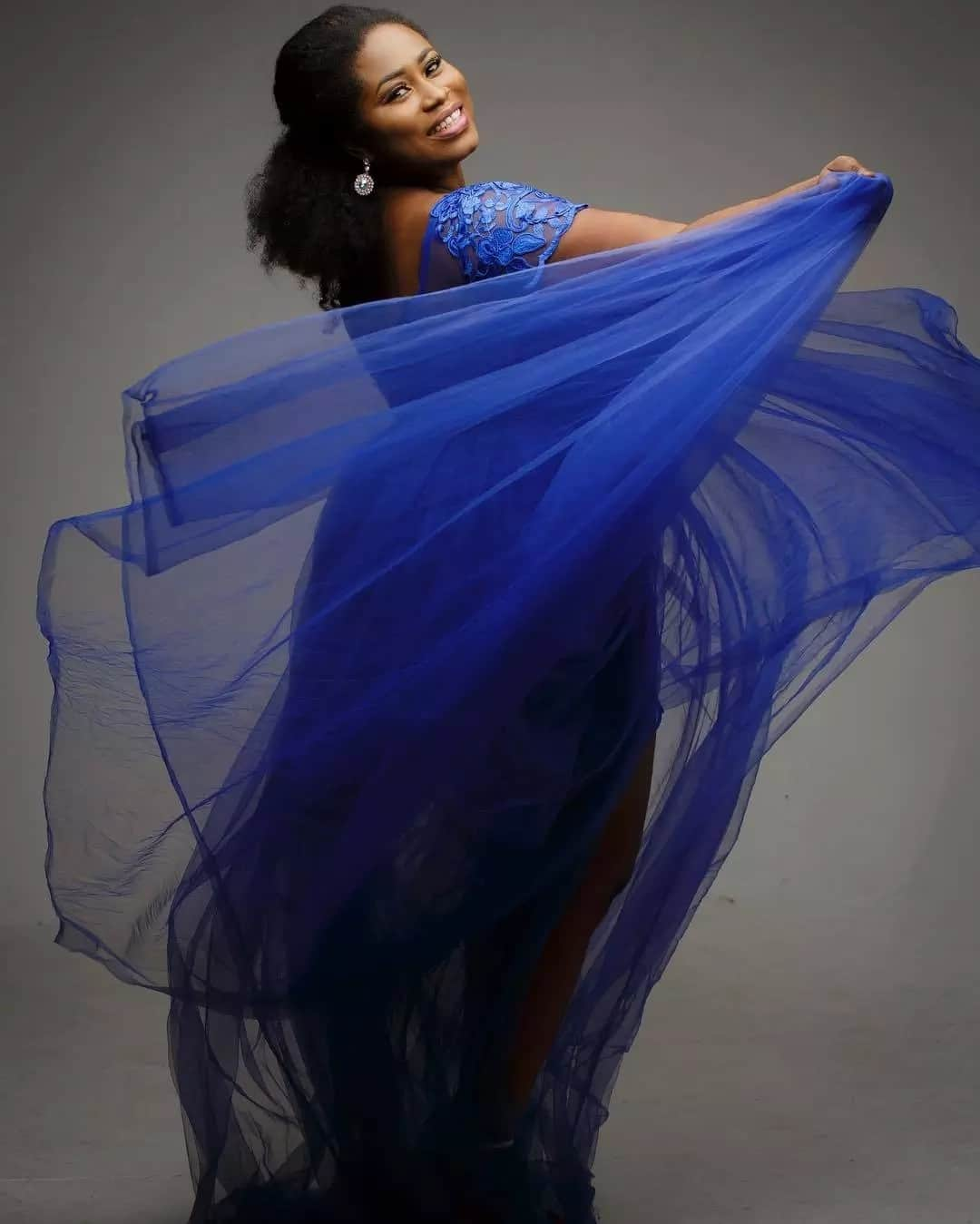 Christabel Ekeh's birthday suit photos for an advocacy prject