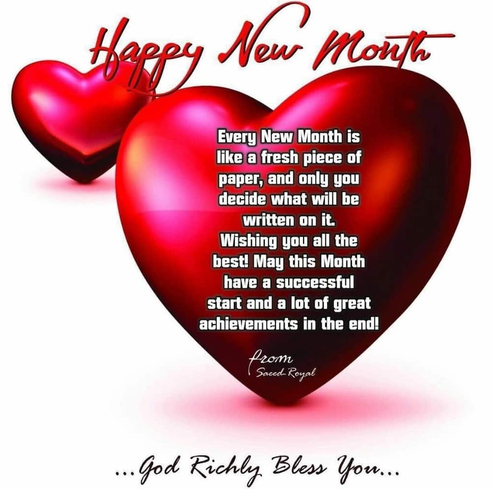 Happy New Month Messages For Friends Yencomgh
