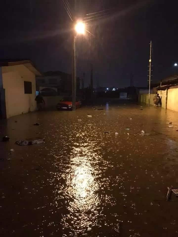 Photo of a flooded area