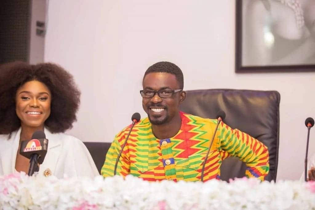Zylofon Media boss 'spoils' his sister with cash on her wedding day