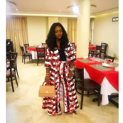 Here are the photos of Jackie Appiah showing her back slit and kaba dresses