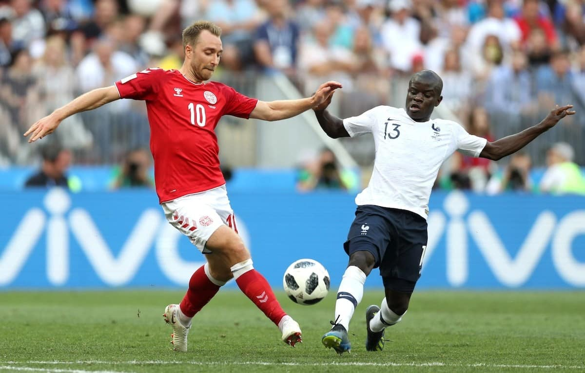 France World Cup players of African descent
