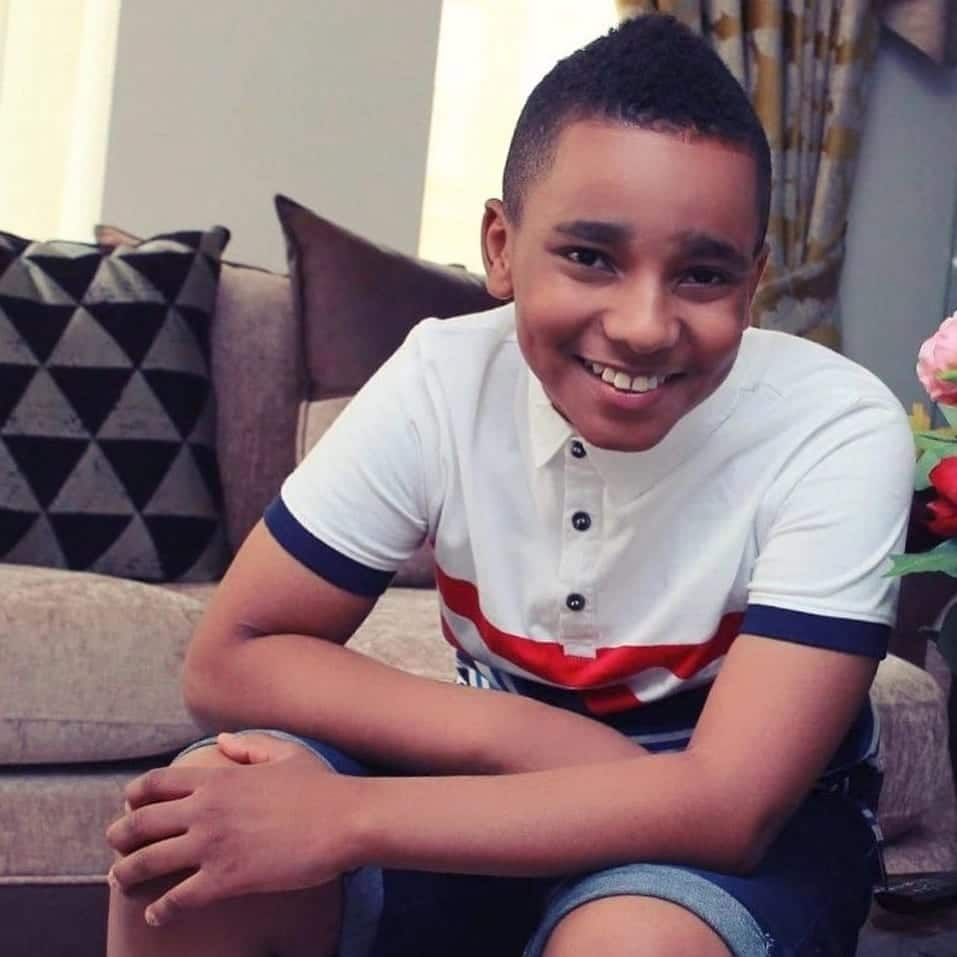 Asamoah Gyan's children look adorable in new photos