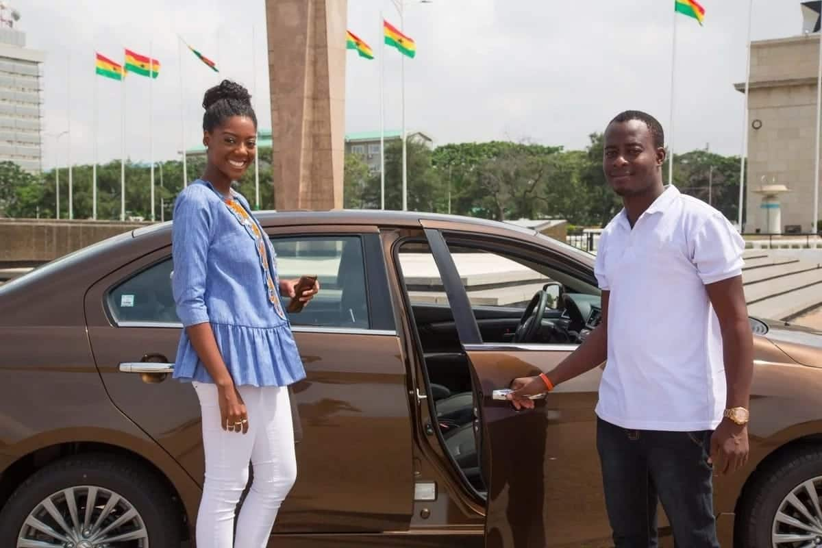 Uber taxi Ghana - registration process for drivers