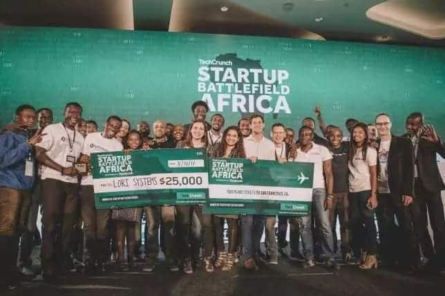 Two Ghanaian startups have emerged winners at the Techcrunch Startup Battlefield African