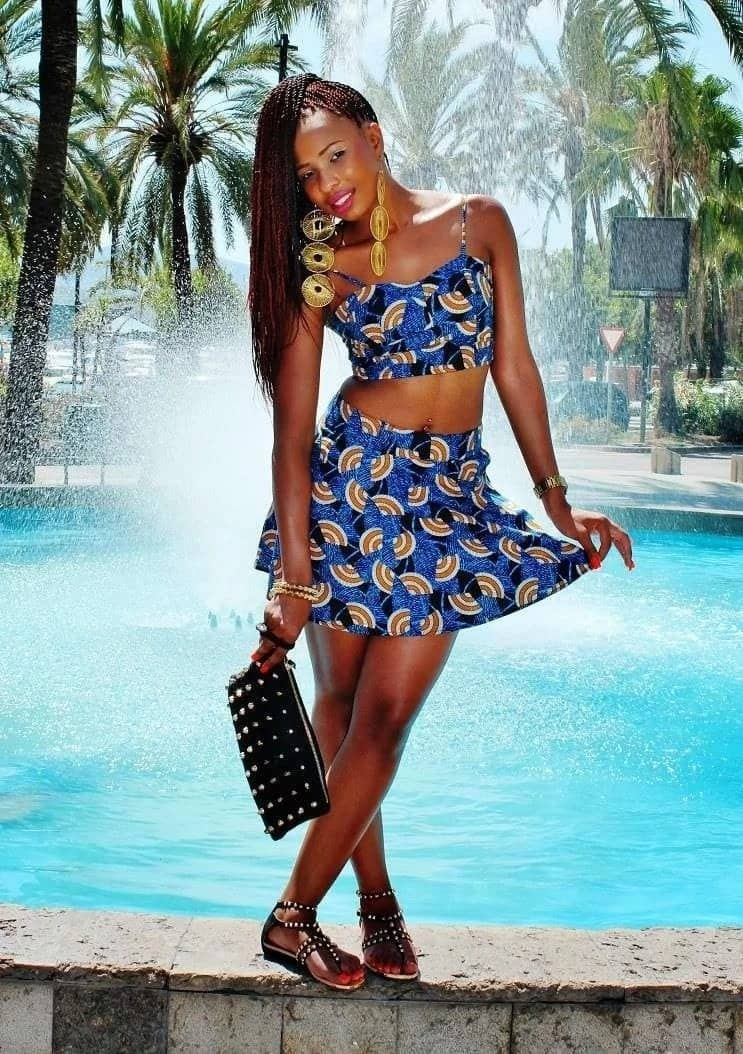 Stunning tops to wear with African print skirts