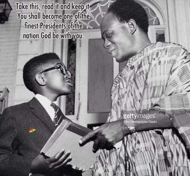 Photo: Akufo-Addo met Kwame Nkrumah as a young boy