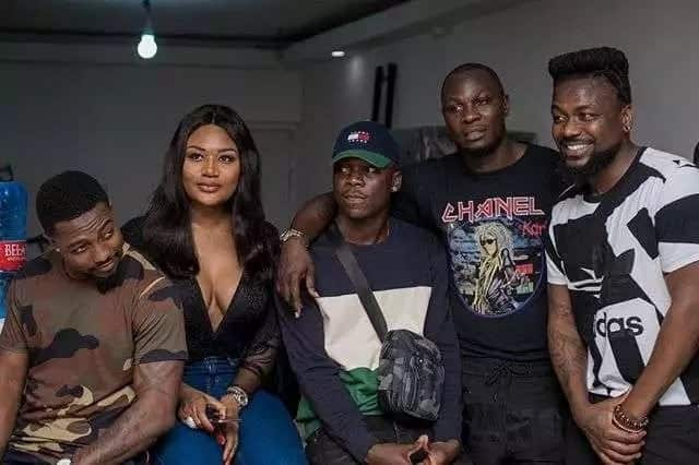 What celebrities wore to Stonebwoy's birthday party