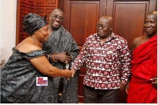 Family of KABA officially inform President Akufo-Addo of his final funeral rites