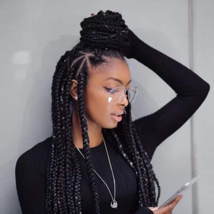 What are loose box braids Loose feather box braids How to make box braids loose