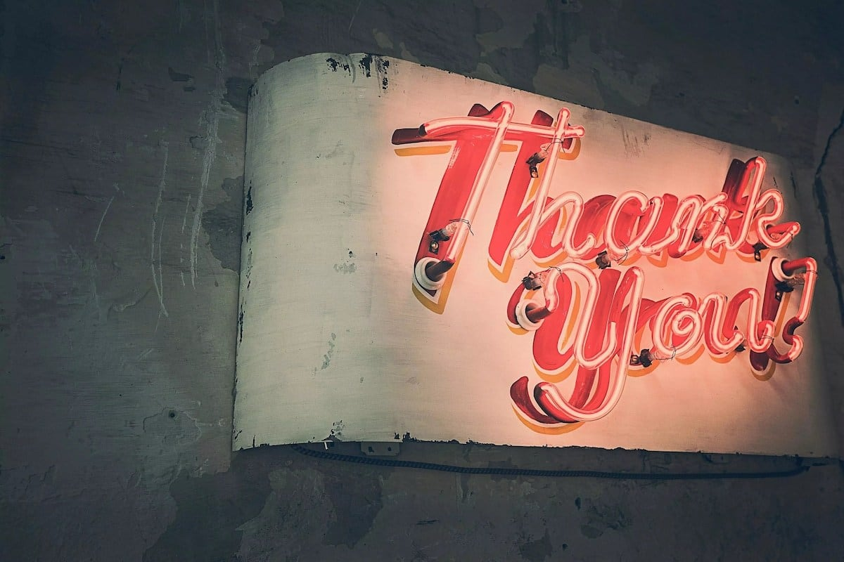thank you messages, appreciation messages, thank you message for a gift