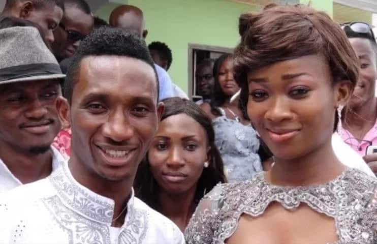 8 top Ghanaian footballers and their wives