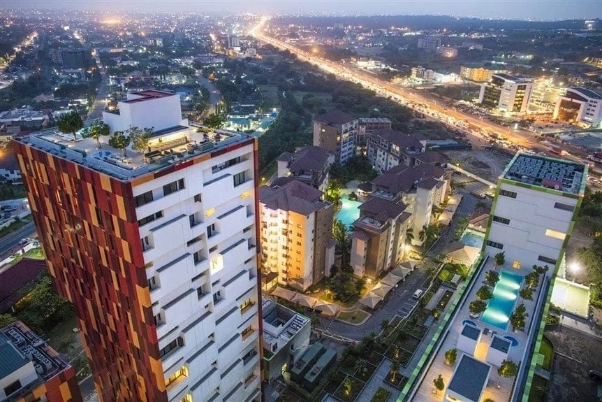 Accra's Crème de la crème of suburban neighborhoods