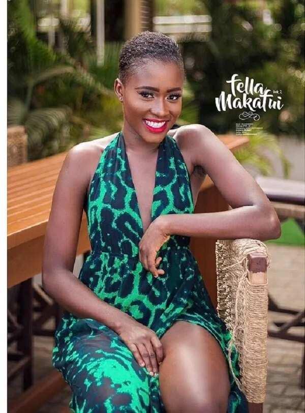Fella Makafui in photoshoot