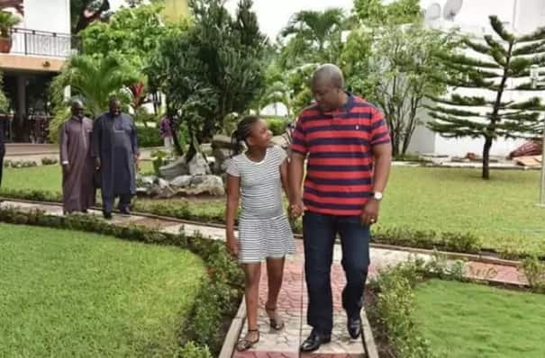 These 7 photos of Mahama and his daugther Farida are giving us serious daddy goals