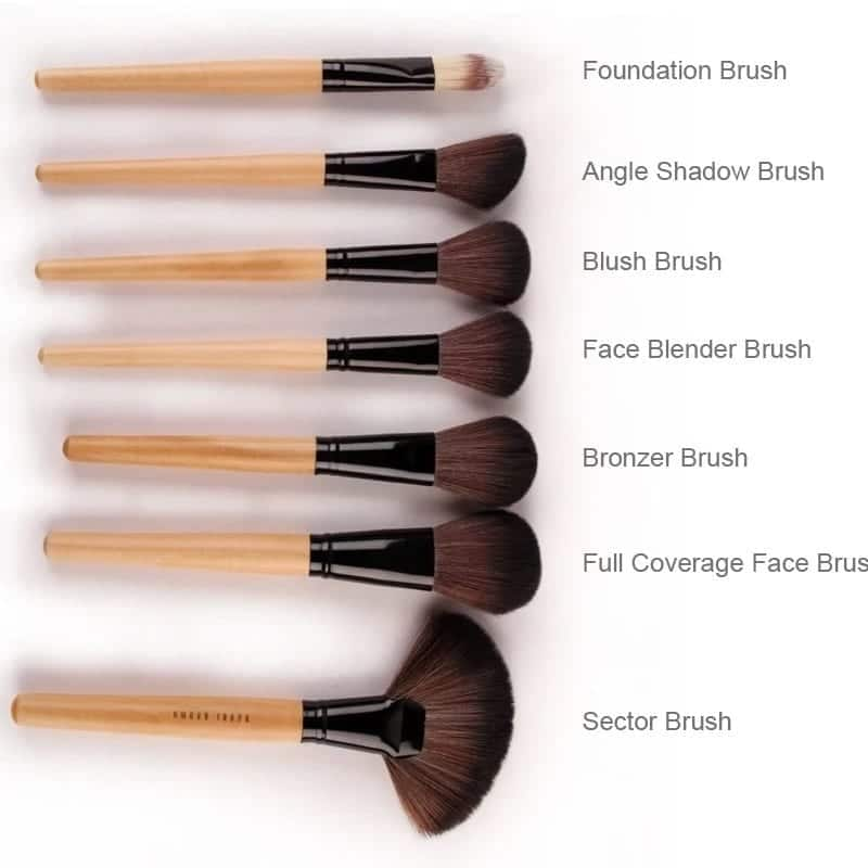 makeup brushes guide essential makeup brushes what brush to use for contour