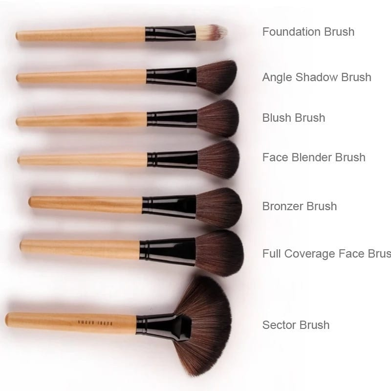 Types Of Make Up Brushes And Their Uses