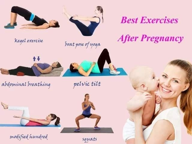 How to Get a Flat Tummy After Pregnancy