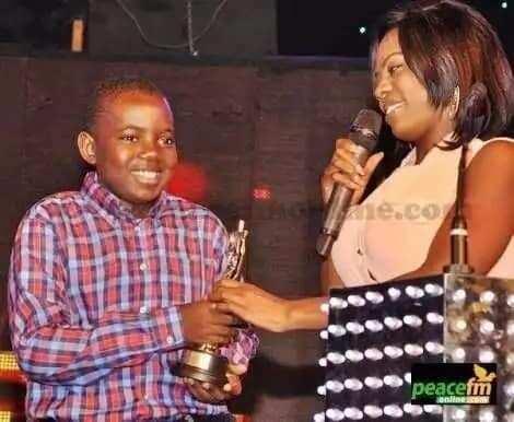 Nana Aba Anamoah celebrates her son as he turns 16