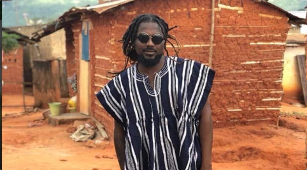 Samini involved in accident; suffers deep cut on eye as he speaks in new video