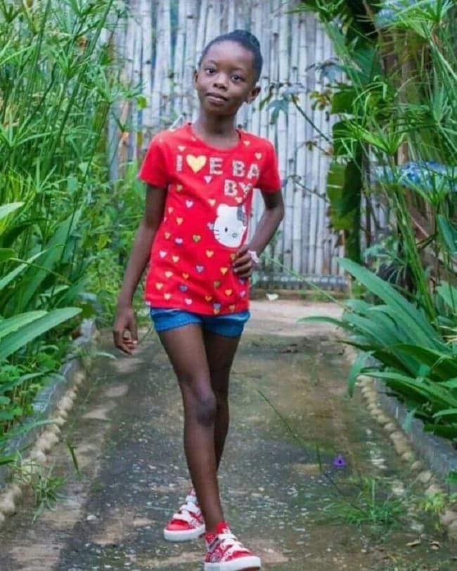 Meet Shatta Wale's 10-year-old daughter (Photos)