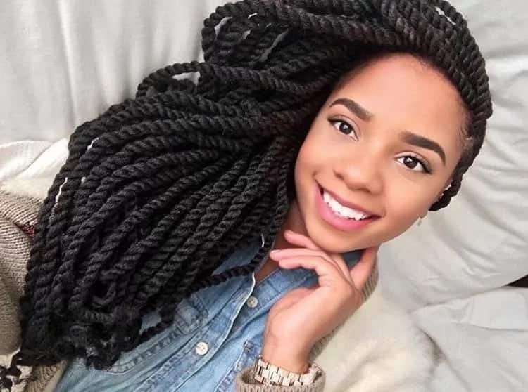 Kinky Braid Hairstyles In Nigeria Yen Com Gh
