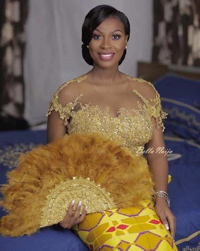 Photos of Ghanaian celebrities at John Dumelo's wedding