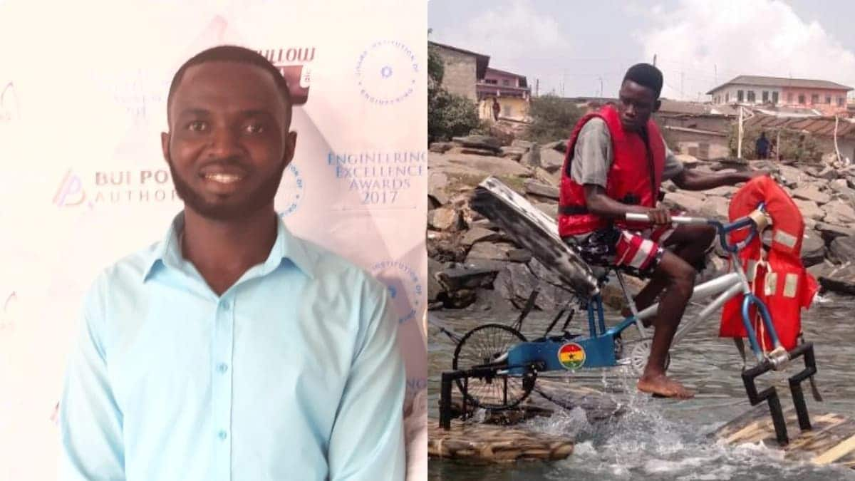Water Bike inventor improves upon his invention