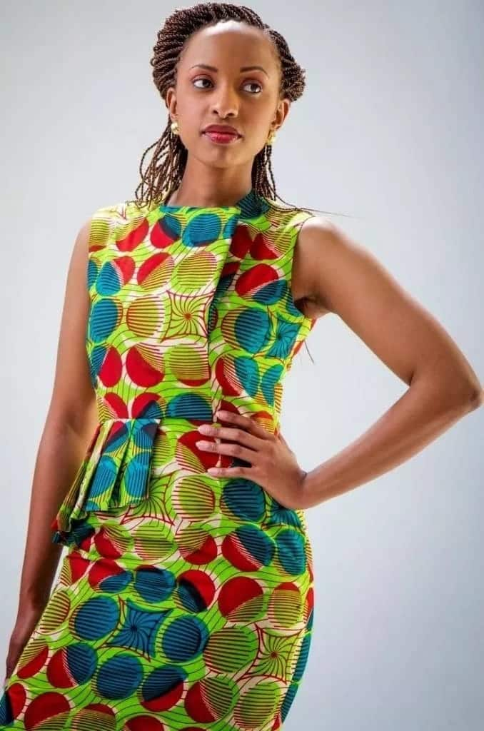 African dresses on the Internet