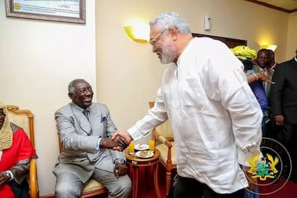Kufuor explains why he can't be friends with Rawlings