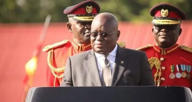 President Akufo-Addo delivering a speech