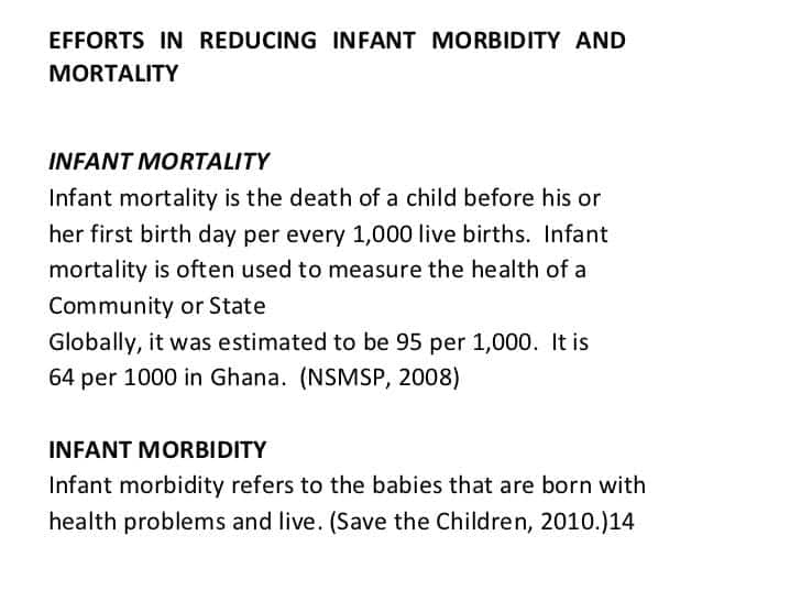 Maternal mortality rate in Ghana by regions