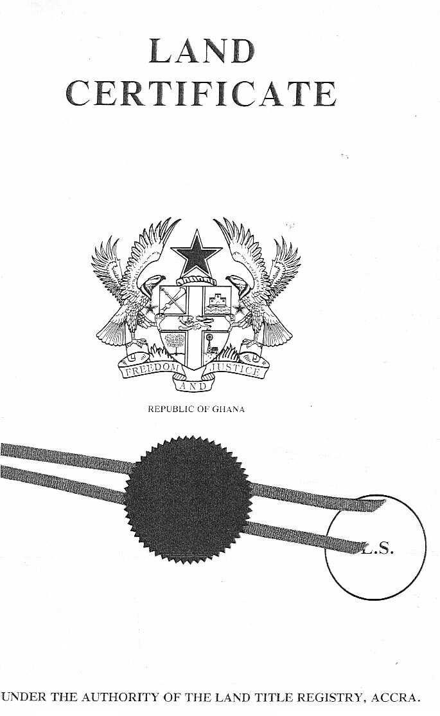 land tenure system in ghana, types of land tenure system in ghana, customary land tenure system in ghana