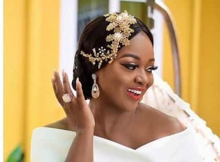 Jackie Appiah was the perfect guest in this wedding outfit