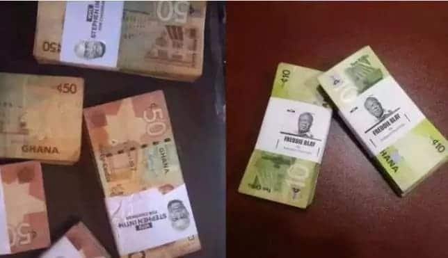 Watch as money is shared openly at NPP conference in Koforidua