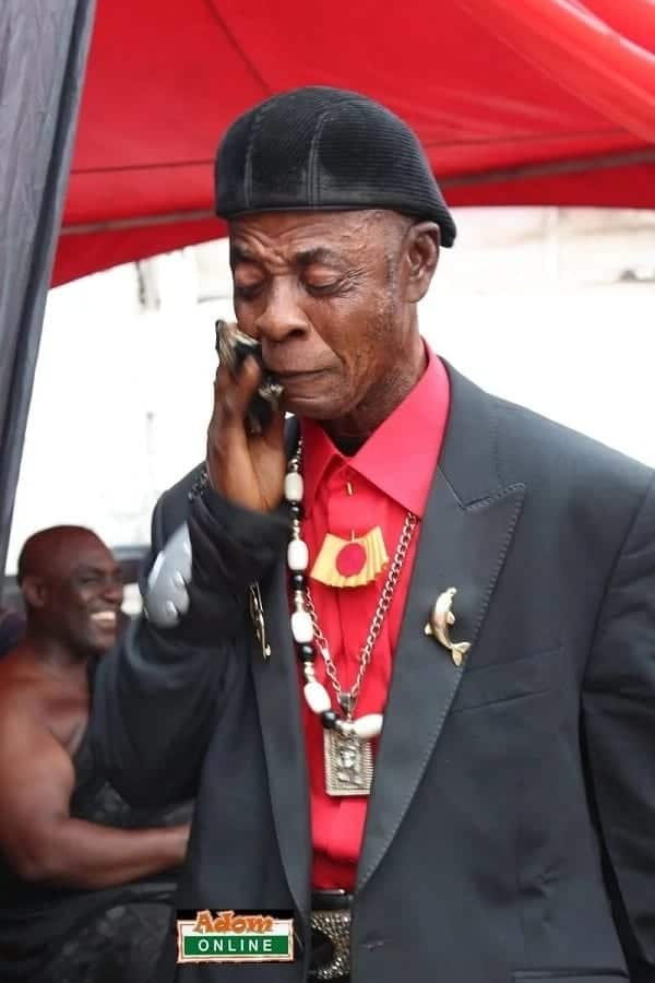 Ghanaian actor Ajos mourns KABA at one week observation