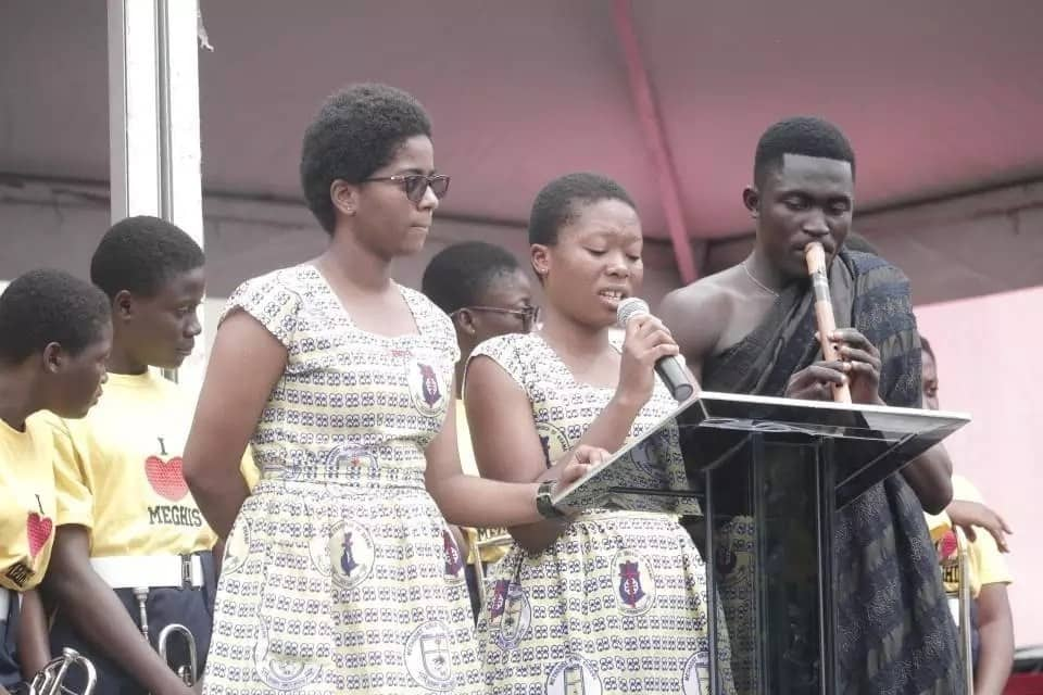Ghana's culture being displayed at Ebony's funeral