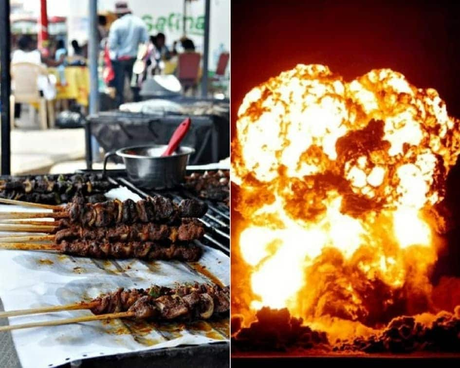Khebab seller never caused Atomic Junction gas explosion