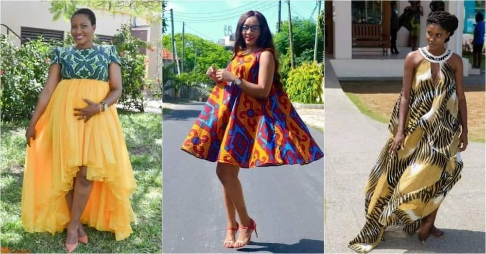 cb230a7255e Latest African Maternity Dresses for a Fashionable Look 2019 ▷ YEN ...