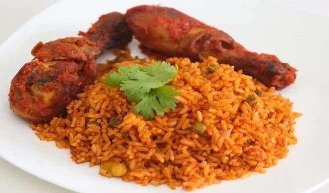 how to prepare jollof rice in Ghana
