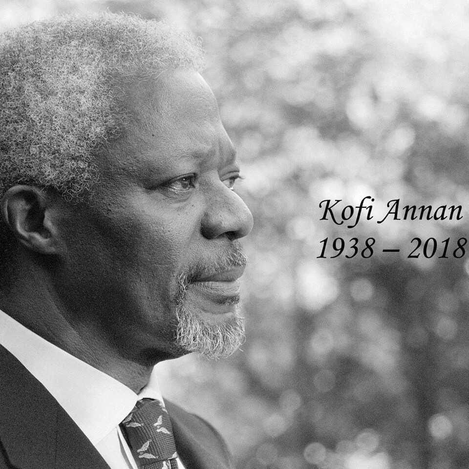Kofi Annan's family, foundation provide details on his last moments