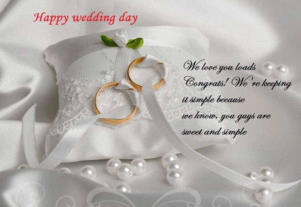 Marriage wishes to a newly married couple ▷ YEN COM GH
