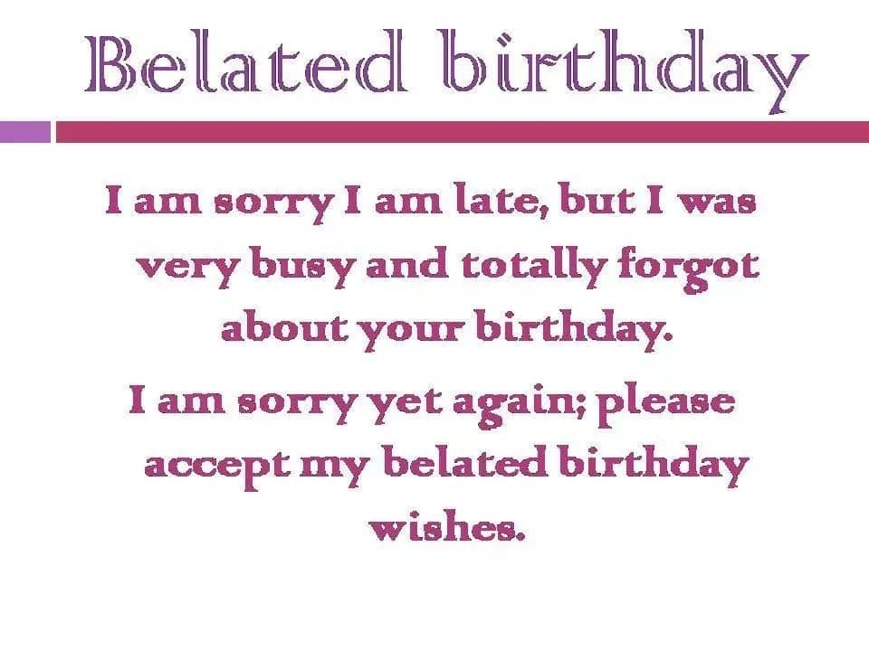 What Does Belated Birthday Mean Happy Messages Late Wishes