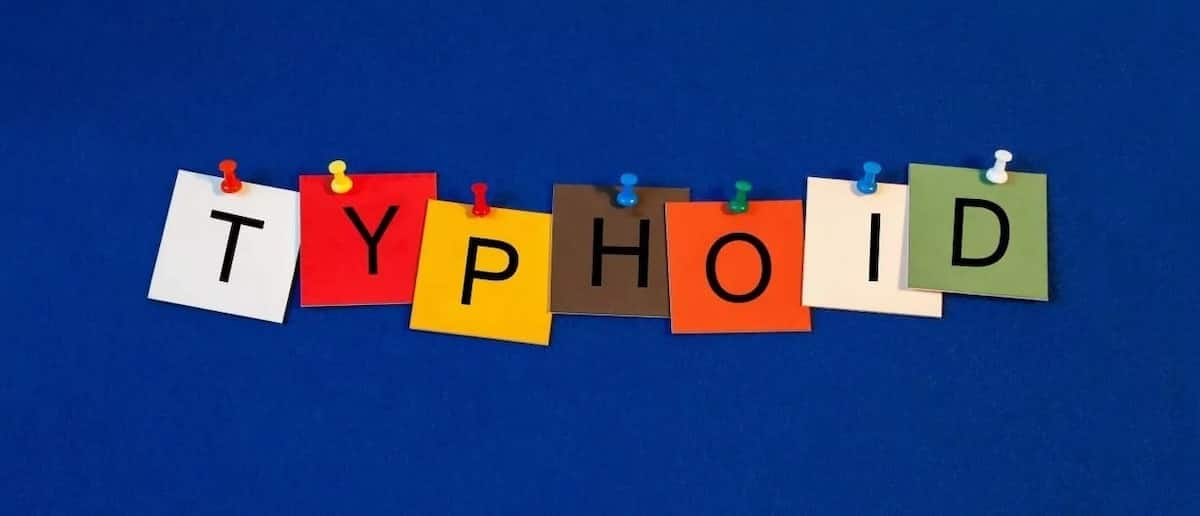 signs and symptoms of typhoid fever causes of typhoid treatment of typhoid typhoid fever treatment
