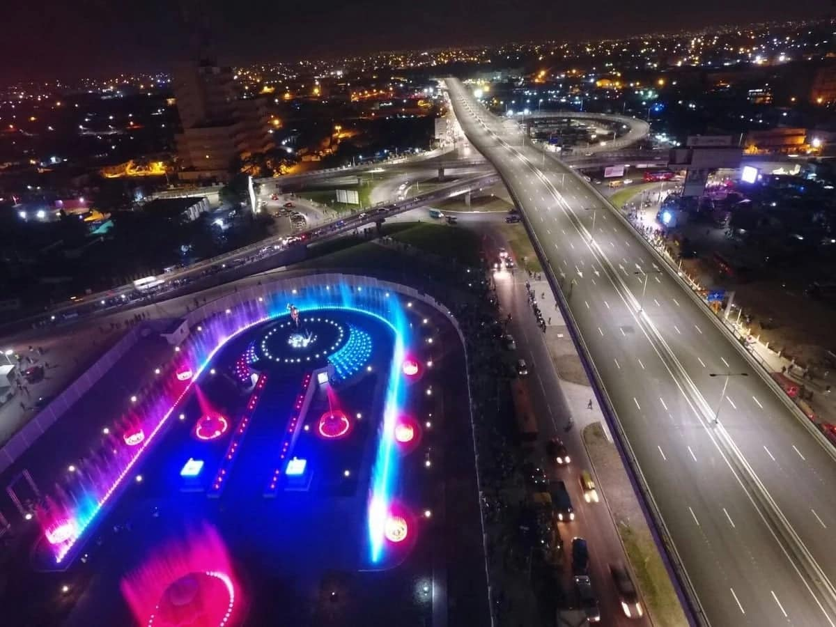 Best Pictures of Kwame Nkrumah Interchange. Is Ghana Becoming the Second Dubai?