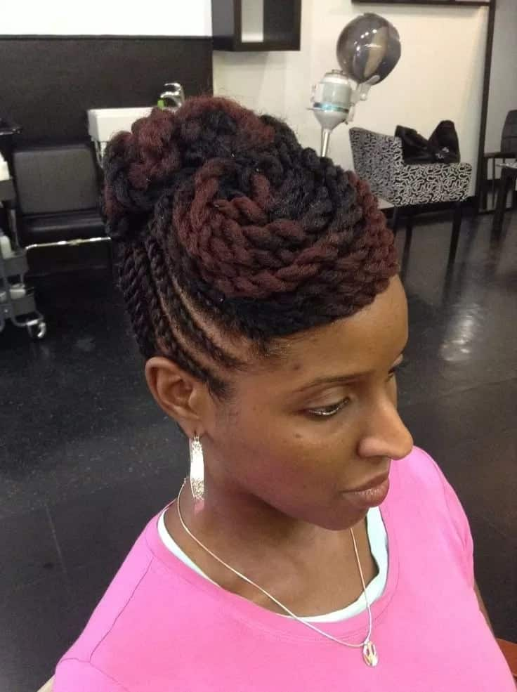 Natural Hair Twist Styles For Long And Short Hair Yen Com Gh