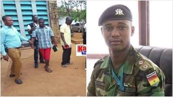 Major Mahama 'killers' appear in court singing praises to God, holding Bibles